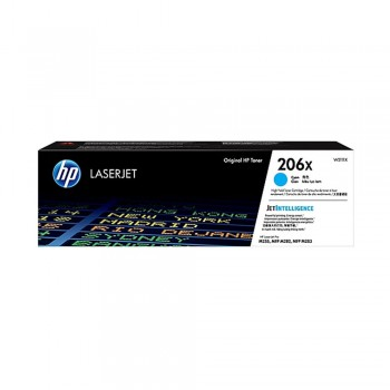 HP 206X Cyan Original LaserJet Toner Cartridge (New)