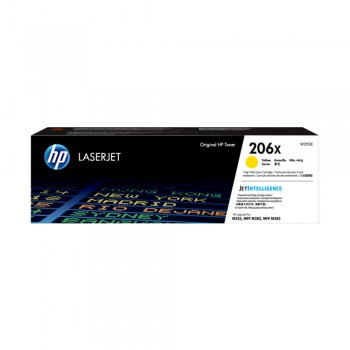 HP 206X Yellow Original LaserJet Toner Cartridge (New)