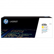 HP 658A Yellow Original LaserJet Toner Cartridge
