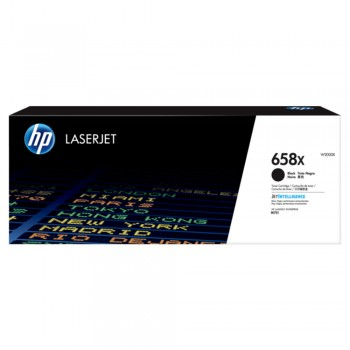 HP 658X High Yield Black Original LaserJet Toner Cartridge