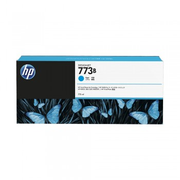 HP 773B 775ml Cyan DesignJet Ink Cartridge (HP C1Q34A)