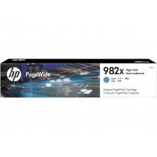 HP 982X High Yield Cyan Original PageWide Cartridge
