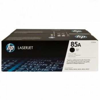 HP 85AD Black Dual Pack LaserJet Toner Cartridges (CE285AD)