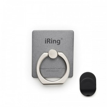 iRING Premium Masstige Grip and Kickstand - Grey