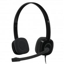 Logitech Stereo H151 Headset - Black