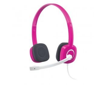 Logitech Stereo Headset H150 - Fuchsia Pink