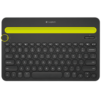 Logitech Bluetooth Multi-Device Keyboard K480 - Black