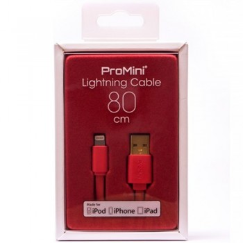 Magic Pro - ProMini Lightning Cable 80cm - Red