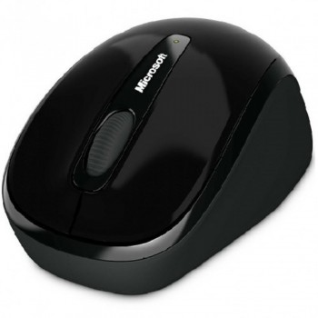 Microsoft Wireless Mobile Mouse 3500 - Black (Item no: MSGMF-00104)