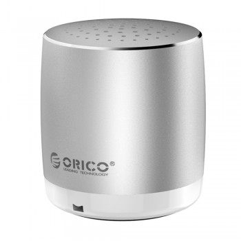 Orico BS16 Mini Bluetooth Aluminium Speaker - Silver