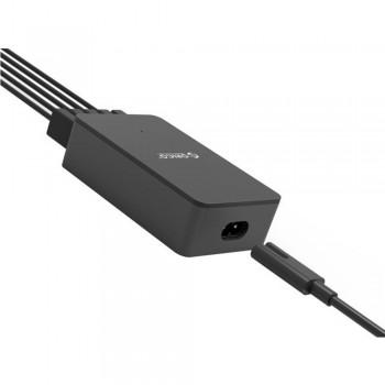 Orico CSE-5U 5 port Smart Desktop Charger, Total 8A (Black)