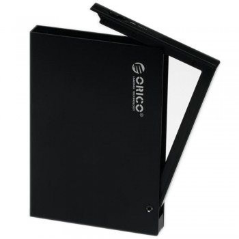 """Orico 2595US3 2.5"""" USB3.0 SATA HDD Enclosure with protection case (Black)"""