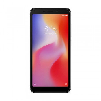 Redmi 6 5.45'' FHD+ SmartPhone - 32gb, 3gb, 12mp, 3000mAh, Mediatek Helio P22, Black