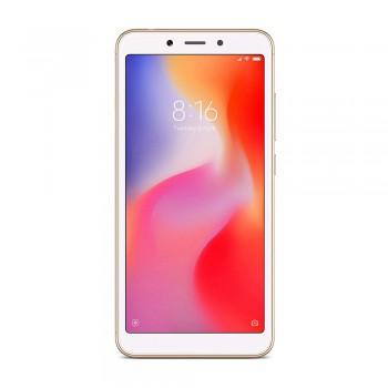 Redmi 6A 5.45' FHD+ SmartPhone - 16gb, 2gb, 13mp, 3000mAh, Mediatek Helio A22, Gold