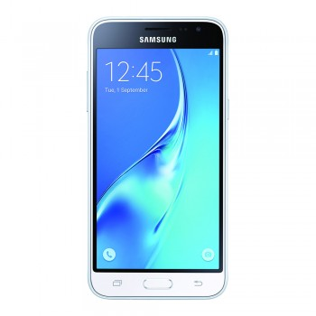 "Samsung Galaxy J3 (2016) 5.0"" HD sAMOLED SmartPhone - 8gb, 1.5gb, 8mp, 2600mAh, White"