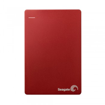 Seagate STDR1000303 Backup Plus 1TB Slim Portable Drive (Red)