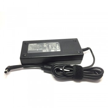 Toshiba Original AC Adapter Charger - 120W, 19V, 6.3A, 5.5x2.5mm for Toshiba Satellite Series (PA3290U-3ACA)