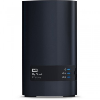 WD My Cloud EX2 Ultra 2-Bay Personal Cloud Storage Server
