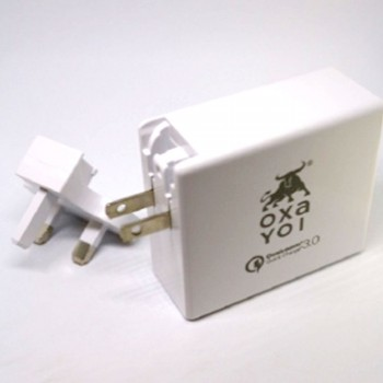 OXA Charger 60W 2 Ports (Type-C PD + QC 3.0)