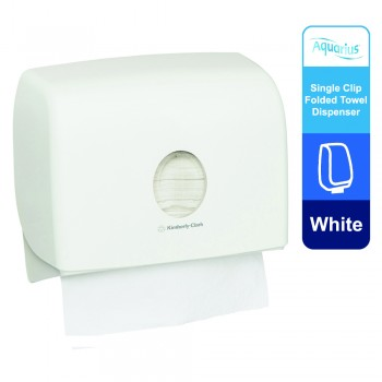 Aquarius™ Multifold Hand Towel Dispenser Single 70220 - White