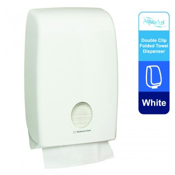 Aquarius™ Multifold Hand Towel Dispenser Double 70230 - White