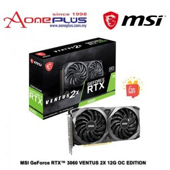 "MSI GeForce RTX™ 3060 VENTUS 2X 12G OC EDITION"""
