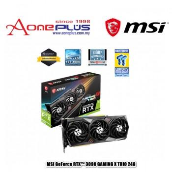 MSI NVIDIA GEFORCE RTX 3090 GAMING X TRIO 24GB GDDR6X 384-BIT PCI-E 4.0 GRAPHIC CARD