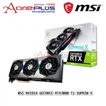 MSI NVIDIA GEFORCE RTX3080 Ti SUPRIM X 12GB GDDR6X 384-BIT PCI-E 4.0 GRAPHIC CARD