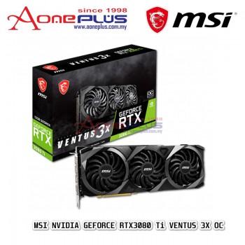 MSI NVIDIA GEFORCE RTX3080 Ti VENTUS 3X OC 12GB GDDR6X 384-BIT PCI-E 4.0 GRAPHIC CARD