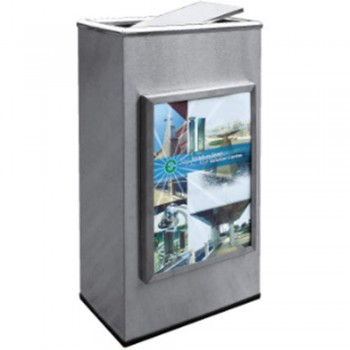 Stainless Steel Advertisement Bin-ATB-165/SS (Item No.G01-286)