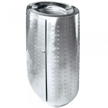 Stainless Steel Oval Waste Bin c/w Open Top-RAB-142/OT (Item No.G01-268)