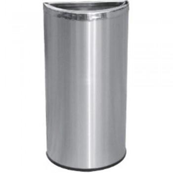 Stainless Steel Semi Round Bin c/w Open Top-SRB-055/OT (Item No.G01-266)