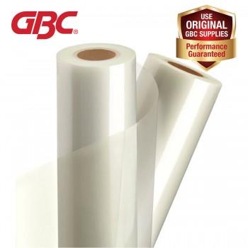GBC PET Hot Roll Film - for Catena Series, Polynex, 320mm x 200m x 25micron, gloss