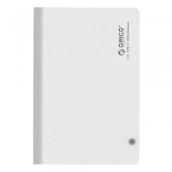 "Orico 2598C3 2.5"" SATA Hard Drive Enclosure, Type C Interface - Black"
