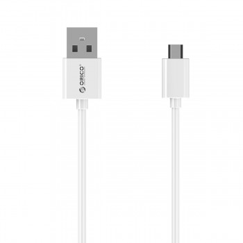Orico ADC-10 1M Micro USB Fast Charging Data Cable - White