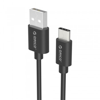 Orico ECU-02 USB To Type C Data Cable 0.2M - Black