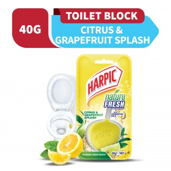 Harpic Nature Fresh Citrus & Grapefruit Splash 40g