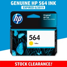 [CLEARANCE] Original HP 564 Yellow Ink Cartridge - Genuine HP Ink CB320WA CB320A CB320 Color Ink (300 Pages)