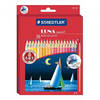 Staedtler Luna Watercolour Pencil - 36 colours