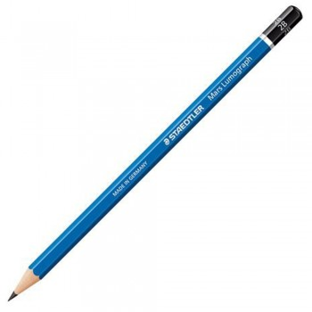 Staedtler Mars Lumograph Pencil 12/Box-2B