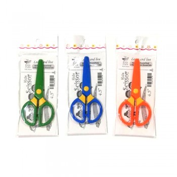 "4.5"" Plastic Kids Scissors"