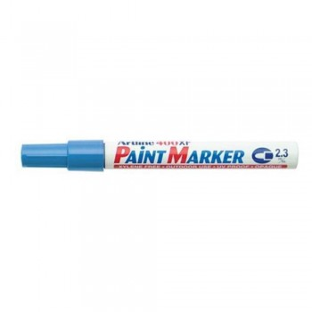 Artline 400XF Paint Marker Pen - 2.3mm Bullet Nib - Light Blue