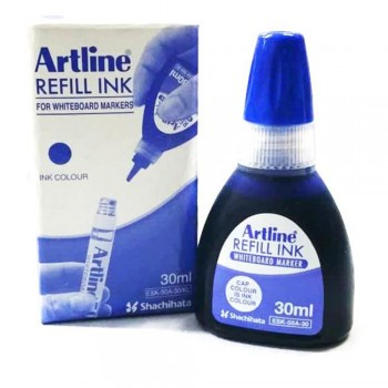 Artline Permanent Marker Refill 30ml Blue