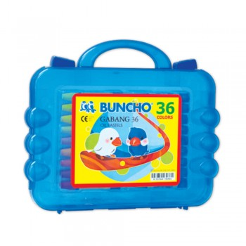Buncho Gabang Oil Pastel - 36 Colors