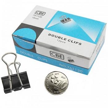 CBE 761120 19MM Double Clip 12pcs [220092881]