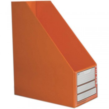 "CBE 06813 5"" PVC Box File (A4) ORANGE"