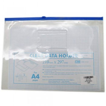 CBE 01314 Zip Document Bag (A4) BLUE