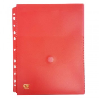 CBE 101A Document Holder W/11Holes (A4)-Red