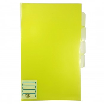 CBE 803F PP Document Holder (F4) Yellow (Item No: B10-101) A1R3B146