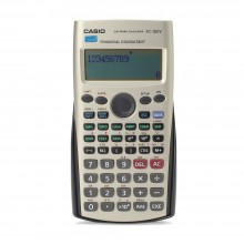 Casio Financial Models Calculator - 10 + 2 Digits, Dot matrix display (FC-100V)